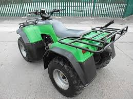 kawasaki klf 400 4x4 farm quad bike atv spares or repair