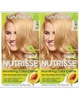 garnier nutrisse 93 light golden blonde reviews new savings on garnier nutrisse nourishing color creme 93 light