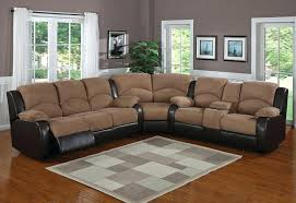 leather and microfiber sectional sofa suede sectional couch iamfiss com