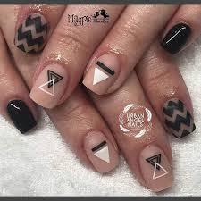 figuras geometricas uñas uñas geométricas 50 ejemplos uñas decoradas nail art