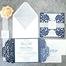 midnight blue wedding band luxury blue and silver wedding invitations or fabulous navy blue