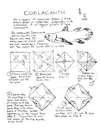 origami fish and sea creatures