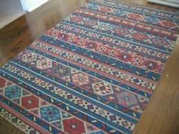 Red And Turquoise Area Rug 5x8 Area Rugs Ebay