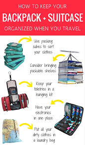 How To Keep Your Bathroom Dry 5 Items To Keep Your Backpack Organized When You Travel
