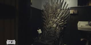 game of thrones u0027 toilet is perfect for those who rule their