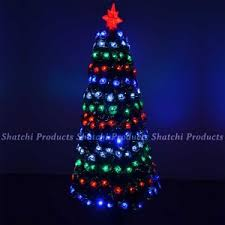 led fibre optic christmas tree christmas trees