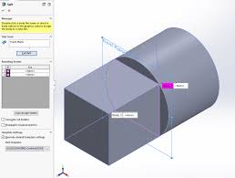 how to use the split feature in solidworks innova systems