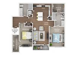 two bedroom two bath floor plans 2 bed 2 bath apartment in arbor mi oakcliff apartments