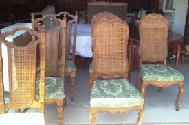 antique cane back dining chairs all chairs design