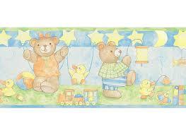bordüre kinderzimmer selbstklebend bordüre bärenfamilie selbstklebend bordüren borten