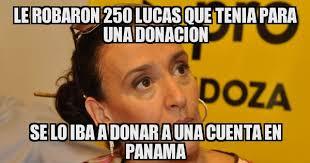 Lucas Meme - le robaron 250 lucas que tenia para una donacion se lo iba a