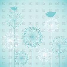 Free Invitation Card Design Cute Baby Shower Blue Invitation Card Design Birds On Flowers