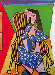 Dora Maar In An Armchair Pablo Picasso Paintings By 1940 1949 In High Resolution
