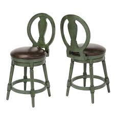Counter Height Swivel Bar Stool Craft 24 In Green Counter Height Swivel Bar Stool