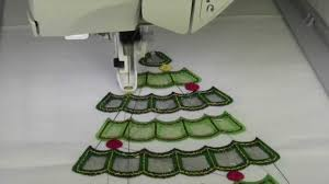 cutwork embroidery christmas tree by anita goodesign youtube
