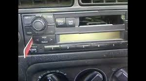 how to remove volkswagen stereo mk iii diy no special tools
