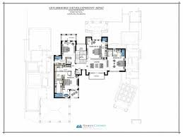 Upstairs Floor Plans by 3750 Rum Row Bcb Homes Naples Florida