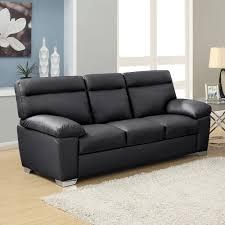 high back leather sofa alto italian inspired high back leather sofa collection in black