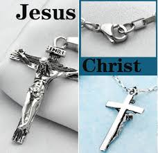 mens cross crucifix necklace images Catholic jesus cross pendant titanium crucifix necklace for men jpg