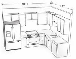 Kitchen Cabinet Drawing Kitchen Brilliant Cabinet Layout Ideas Home Design Awesome Best 25