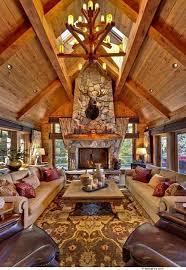 Small Log Cabin Interiors Cosy Homes Interiorscosy Homes Log Cabin Interior Design Ideas