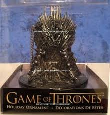 of thrones 4 1 4 inch figural ornament set of thrones