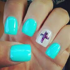 mint green gel nails designs sbbb info