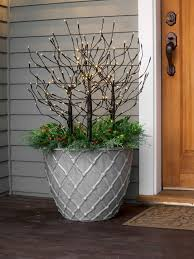 Outdoor Christmas Decorations Pots by 1052 Best Christmas U0026 Winter Pots Images On Pinterest Christmas