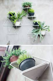 wall mounted herb garden 10 modern wall mounted plant holders to decorate bare walls