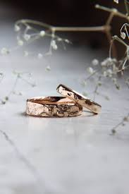 unique wedding band textured wedding bands gold wedding ring unique wedding ring