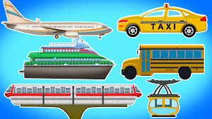 travel and transport images Public transport vehicles for children 39 s videos for kids jpg