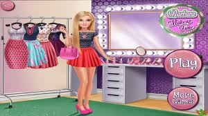 barbara make up time game best barbie video games for girls