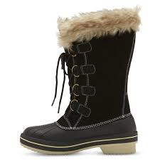womens winter boots at target s neida winter boots black target fashion