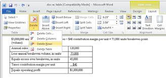 Change Table Style Word How To Format A Table In Word 2010 Dummies