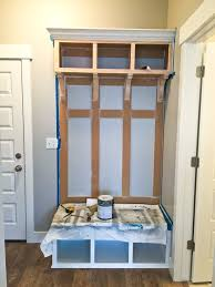 Building A Mudroom Bench Diy Mudroom Bench Part 2 Honeybear Lane