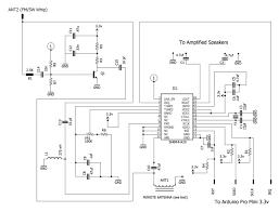Radio Repeater Circuit Diagram Radio Receiver Schematic Fm Radio Pinterest Radios And Arduino