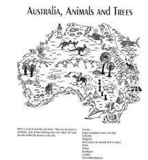 australia activities to print interactive activities games