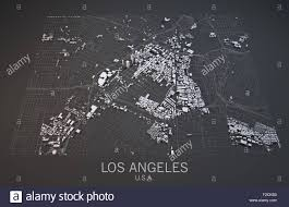 Satellite View Maps Satellite View Of Los Angeles Map United States Of America Usa