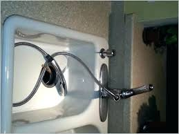 Replace Kitchen Sink Sprayer Replacing Kitchen Sink Sprayer Hose How To Install Kitchen Sink