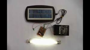 battery powered emergency lights how to make a solar powered 6v emergency light at home youtube