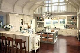 kitchen designs pendant lighting over large island black white