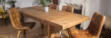 reclaimed wood extending dining table rustic extendable reclaimed wood dining set with leather chairs on