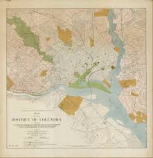 Map Of The National Mall 1902 Mcmillan Report Resources National Mall Coalition
