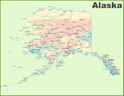 Alaska On World Map by Alaska State Maps Usa Maps Of Alaska Ak