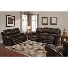 Reclining Living Room Set Parker Living Thurston Leather Power Reclining Living Room Set In