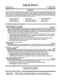 sample administrative assistant resume sample administrative