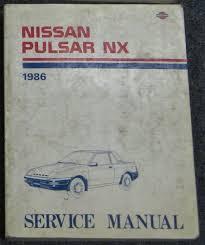 1986 nissan pulsar nx service manual u2022 8 99 picclick