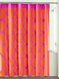 Orange Shower Curtains Orange Shower Curtain Bmhmarkets Club