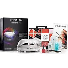 cnd 3c led l cnd shellac chic collection starter pack cnd shellac brisa led 3c
