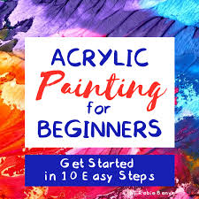 what of paint do you use to paint oak cabinets acrylic painting for beginners getting started in 10 easy